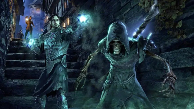 Свежий трейлер The Elder Scrolls Online: Elsweyr посвящён некроманту