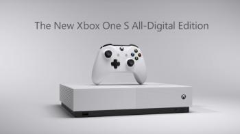 Microsoft представила XBOX One S без привода для чтения дисков