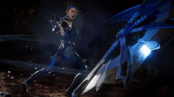 Китана всё так же бодро машет веерами в новом ролике Mortal Kombat 11